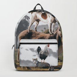 Town Musicians of Bremen Animals Backpack