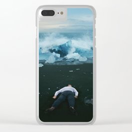 Interstellar | Shattered Memoirs Clear iPhone Case