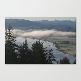 Young's River Bend Canvas Print