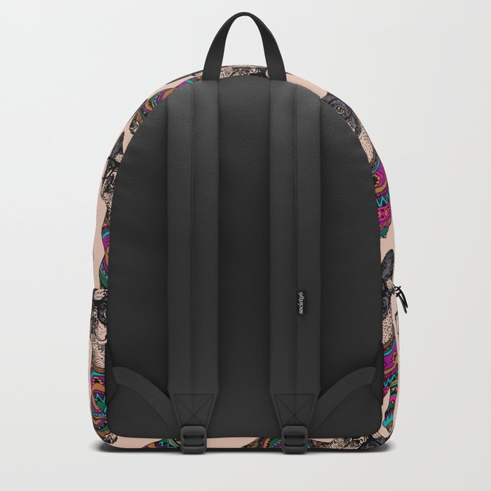 hipster frenchie Backpack