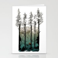 tennessee Stationery Cards featuring Tennessee Mist by Derik Hobbs Illustration