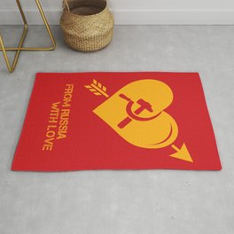 From Russia With Love - Alternative Movie Poster Rug