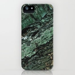 Forest Textures iPhone Case