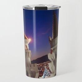 Sideways in Vegas Travel Mug