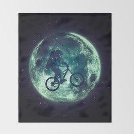 E.T.B. (variant) Throw Blanket