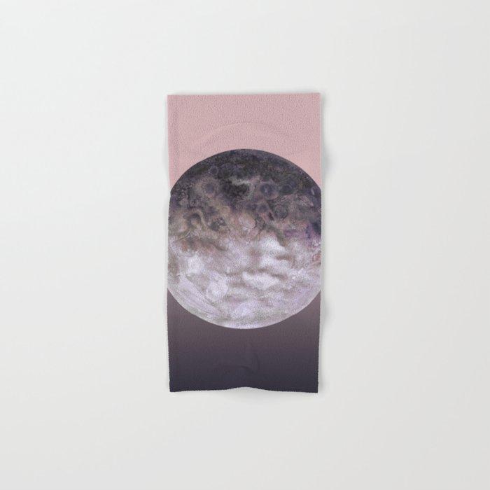 Quaoar lilac gradient Hand & Bath Towel