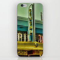cinema iPhone & iPod Skins featuring Classic Cinema by AMKohls