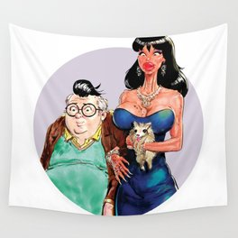 Ronnie and Dilton Wall Tapestry