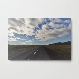 Ring Road - Iceland Metal Print
