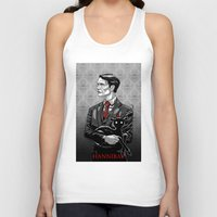 hannibal Tank Tops featuring Hannibal by Andrew Sebastian Kwan