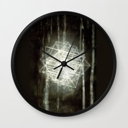 Tesseract - FAUN Wall Clock