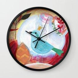 Tender Nest Wall Clock