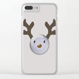 Happy baby deer Clear iPhone Case