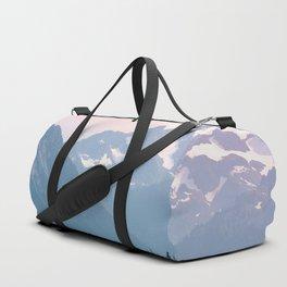 Pink Cascades - Mountain Nature Landscape Photography Duffle Bag