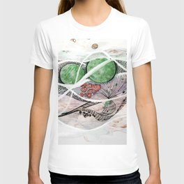 Space Planet Star Abstract T-shirt