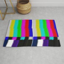 TV Screen Color Bars Rug