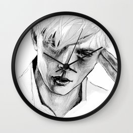 Andrew Minyard Wall Clock