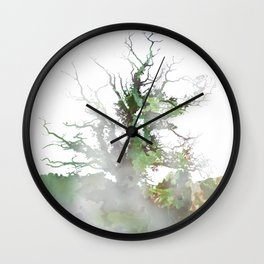 Where the sea sings to the trees - 1 Wall Clock