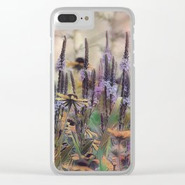 Wild Lovelies Clear iPhone Case