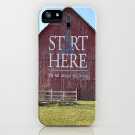 Start Here, It's All About Learning iPhone Case