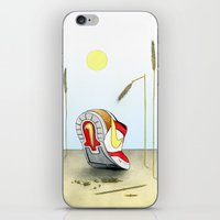 nike iPhone & iPod Skins featuring Nike by Alex Drubetsky
