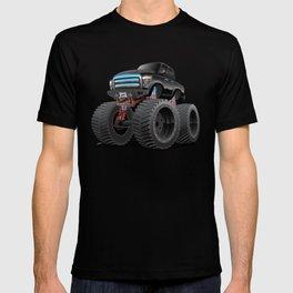 Monster Pickup Truck Cartoon T-shirt