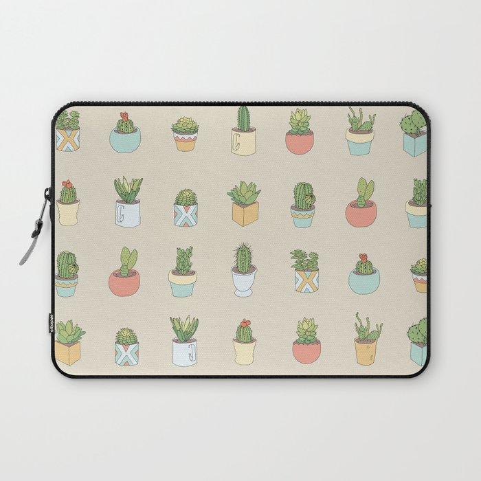 Cute Succulents Laptop Sleeve