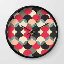 Circles forms engineering Wall Clock