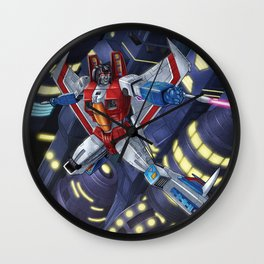 Screamer Wall Clock
