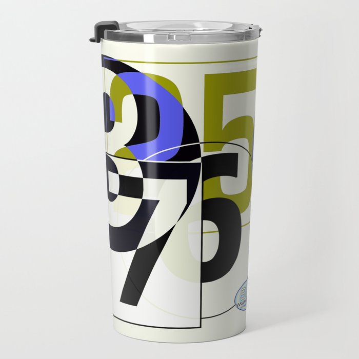 SRC Preparations Race Numbers One Travel Mug