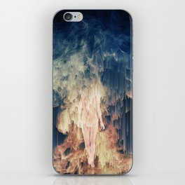 ascension and descent iPhone Skin