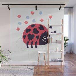 Ladybug Wall Mural