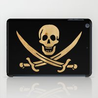 pirate iPad Cases featuring Pirate by NicoWriter
