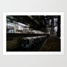 Subterranean Ascent  Art Print
