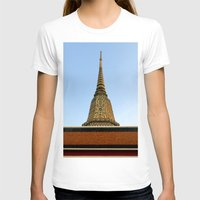 thailand T-shirts featuring temple in thailand by habish