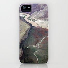 Grand Canyon bird's eye view #1 iPhone Case