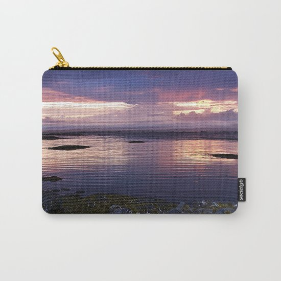 Sunset Split Carry-All Pouch