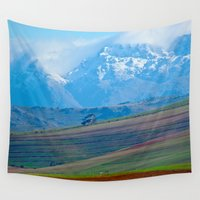 friday Wall Tapestries featuring Reviersonderend Berge Friday 13th by CrismanArt