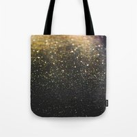 sparkle Tote Bags featuring Sparkle by Jane Lacey Smith