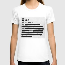 Leo 1 T-shirt
