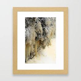 Ice Sculptures Framed Art Print