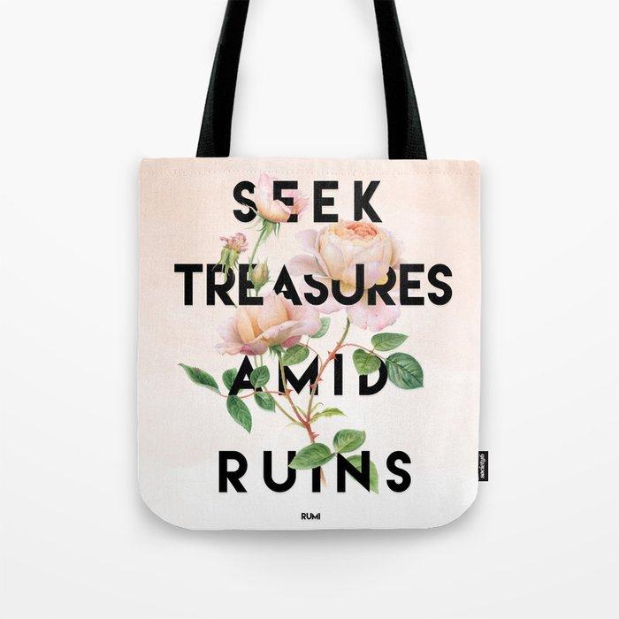 Seek Treasure Tote Bag