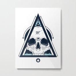 Weird Collection - Skull Metal Print