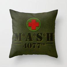 M*A*S*H Throw Pillow