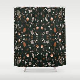 Autumn feeling pattern Shower Curtain