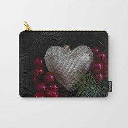 Heart in Christmas. Carry-All Pouch