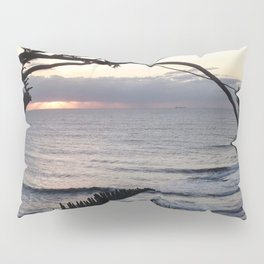 Peeping Through- Sunrise Caloundra Pillow Sham