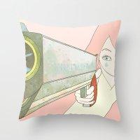 big bang Throw Pillows featuring BIG BANG ♥ by PAUL PiERROt