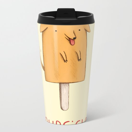 Pupsicle Metal Travel Mug