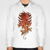 dungeons and dragons Hoodies featuring Dragons by sandara